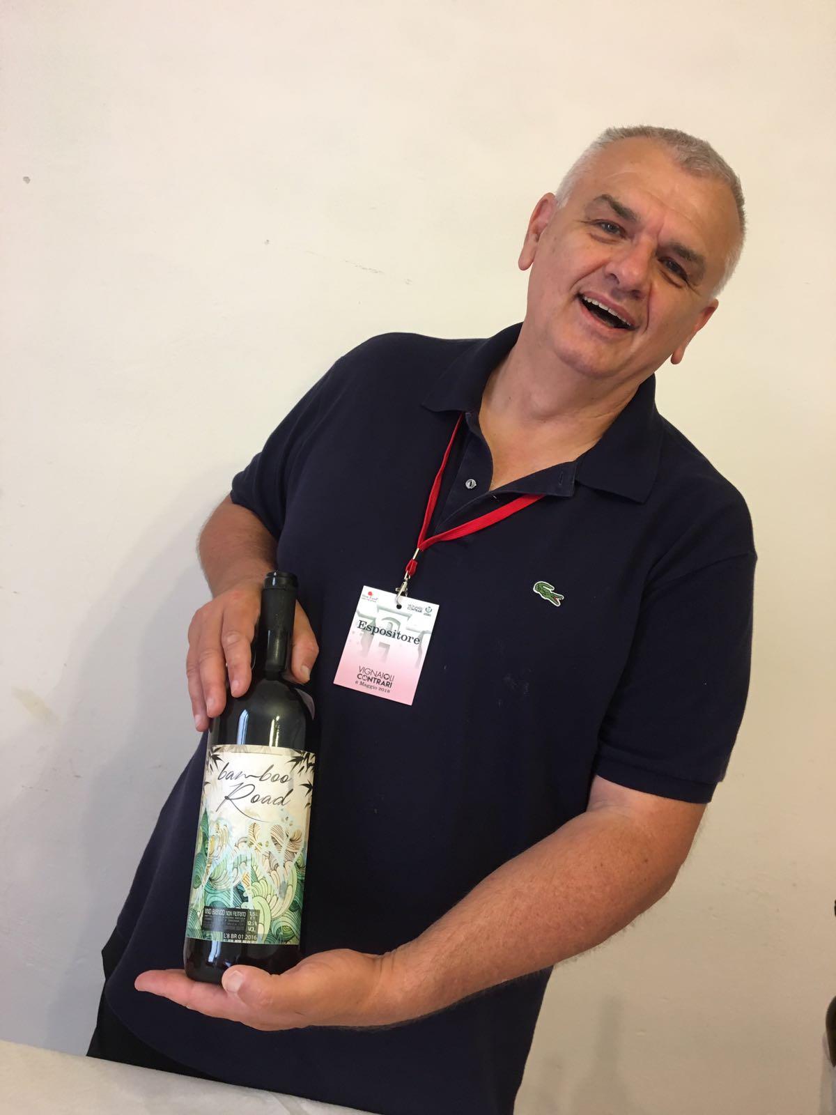 Stefano Legnani, piccolo produttore di Sarzana.
