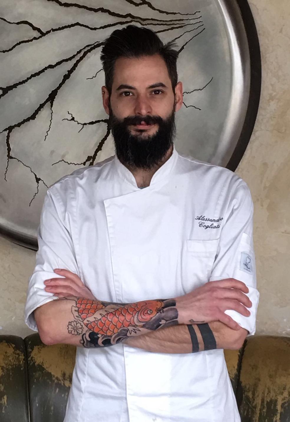 chef Alessandro Cogliati