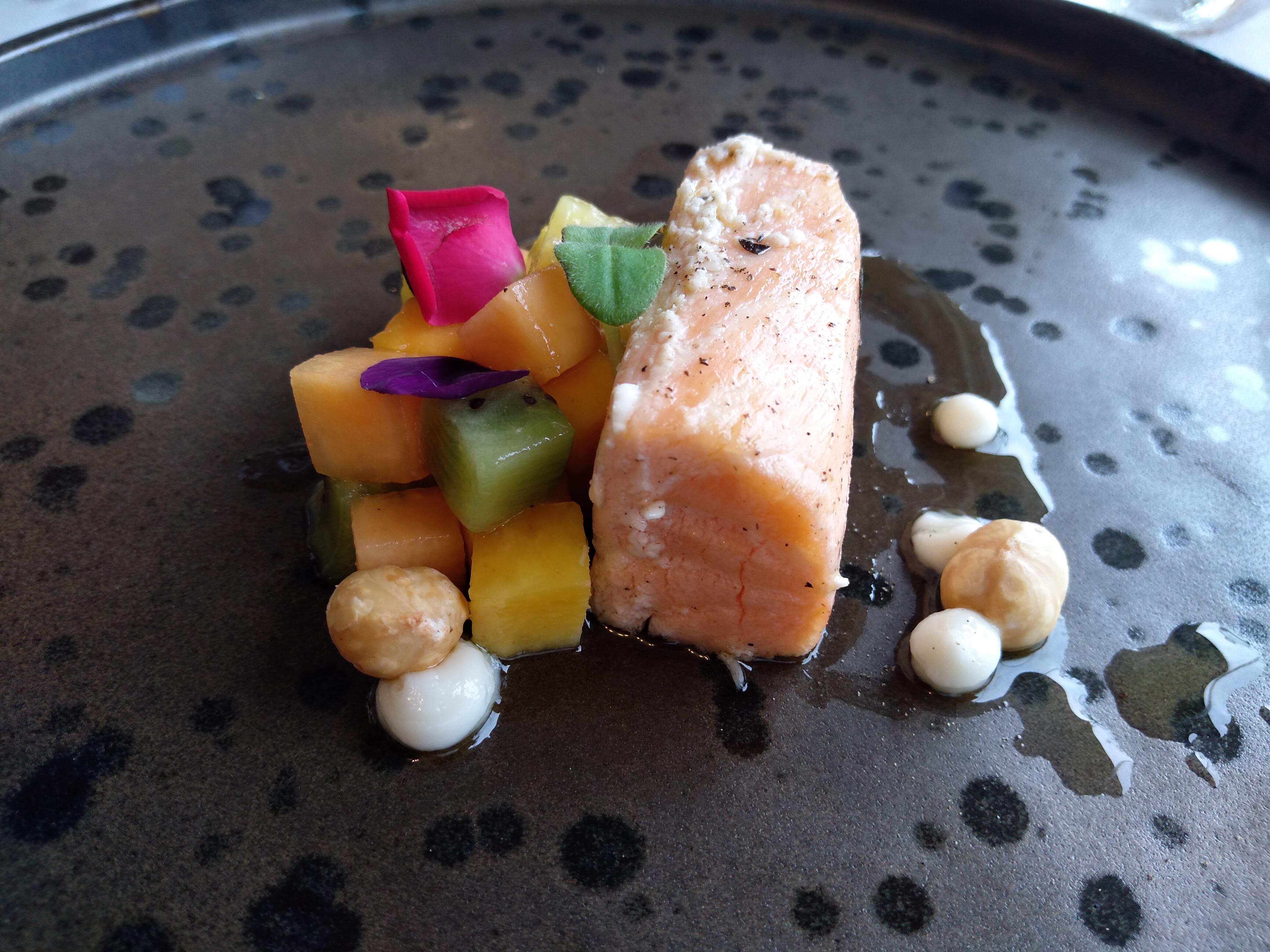 salmone confit